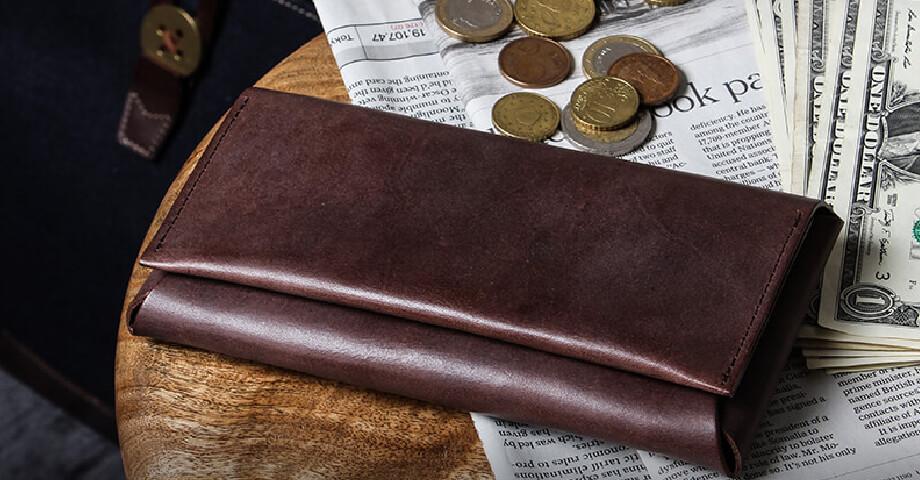 ファブリック FABRIK のコンパクトな長財布