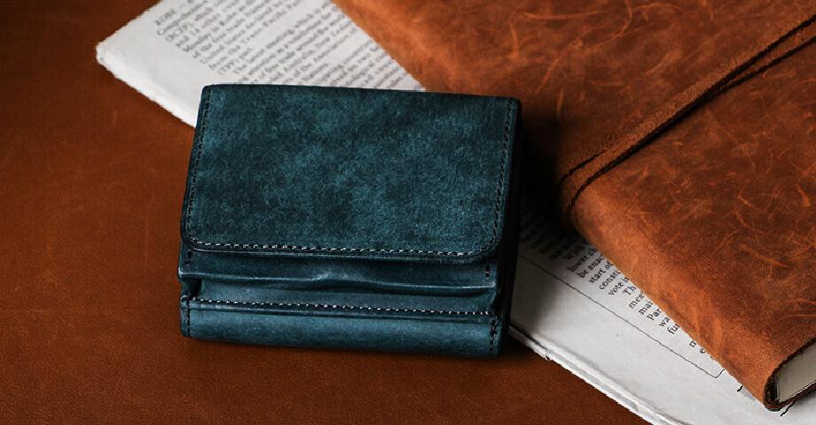 ヒズファクトリー HIS-FACTORY の三つ折り財布