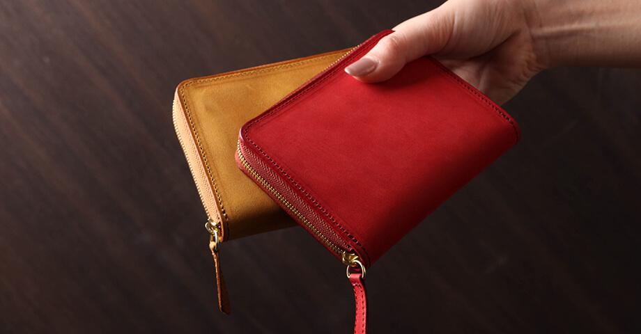 デシベル Decibell のラウンド財布(ショート)