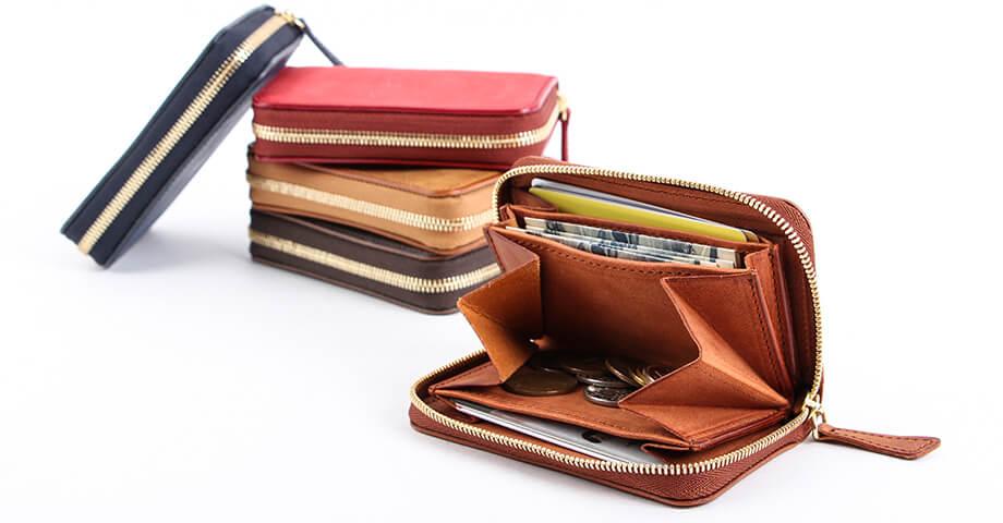 デシベル Decibell のラウンド財布(ミニ)