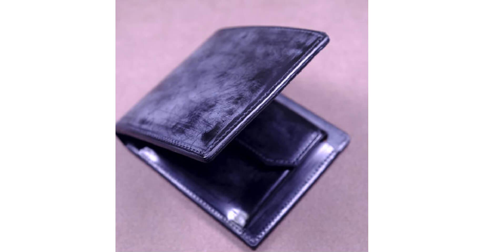 二宮五郎商店のブリナコードバンの財布