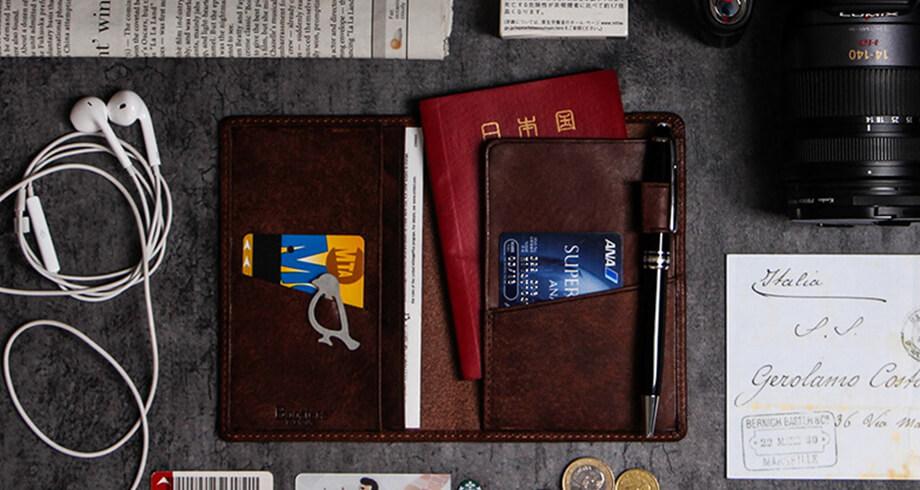 ブースターズのパスポートケース