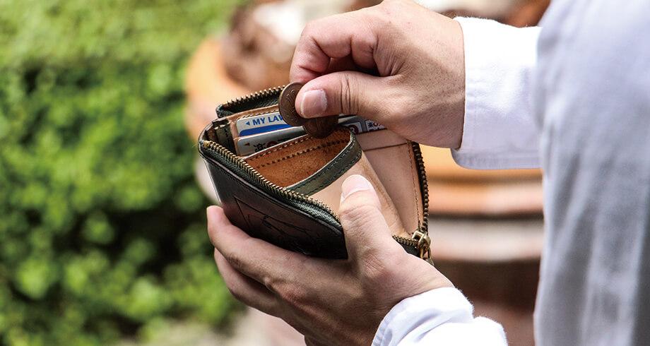 ビアベリーのL字財布