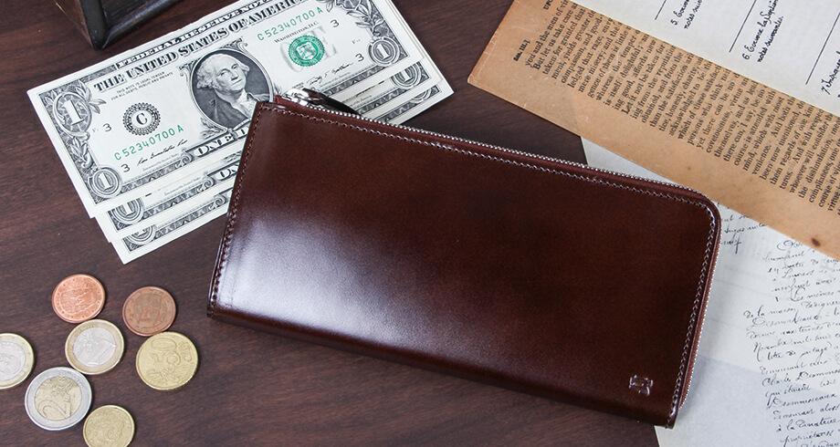 レディーオアオーダーの薄型L字財布