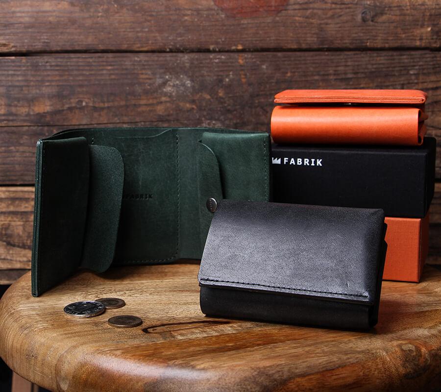 ファブリック しっかり入ってコンパクトな財布 TRI-FOLD WALLET 財布 FABRIK