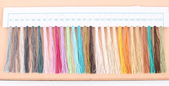 ファイブウッズ ワークショップ 縫い糸2